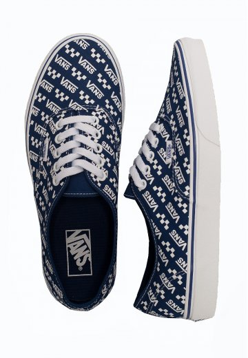 Vans Authentic (Logo Repeat) Tr BlTrue White Shoes