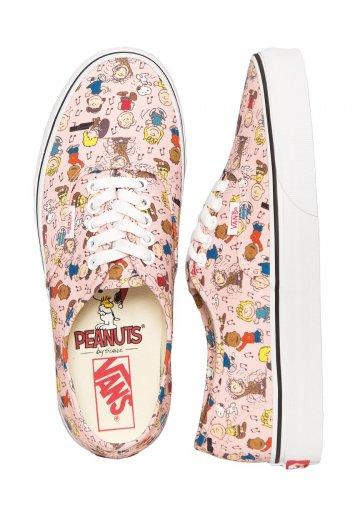 31d871a2b10 Vans X Peanuts - Authentic Peanuts Dance Party Pink - Girl Shoes -  Impericon.com UK