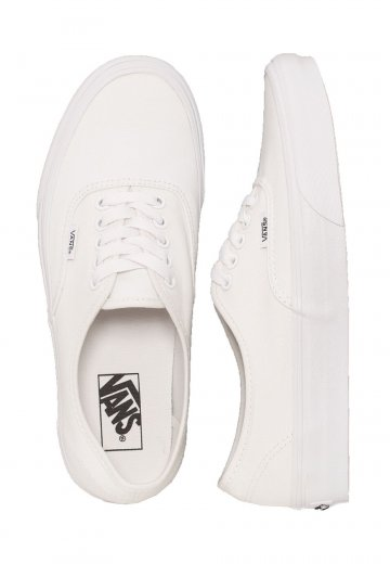 Vans - Authentic True White - Girl Shoes
