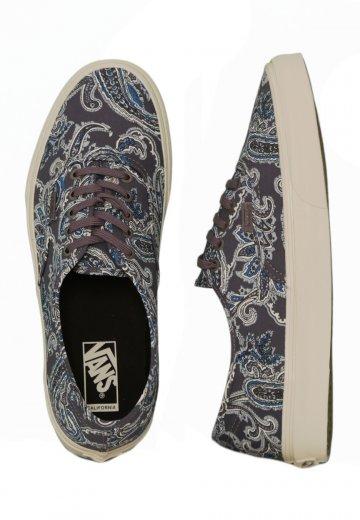 Vans - Authentic CA Paisley Charcoal