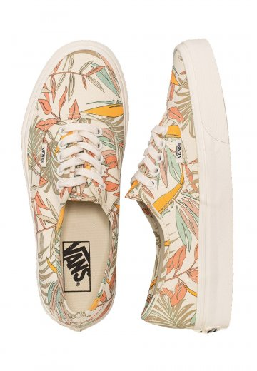 ec5494c4df Vans - Authentic California Floral Marshmallow Marshmallow - Girl Shoes -  Impericon.com US