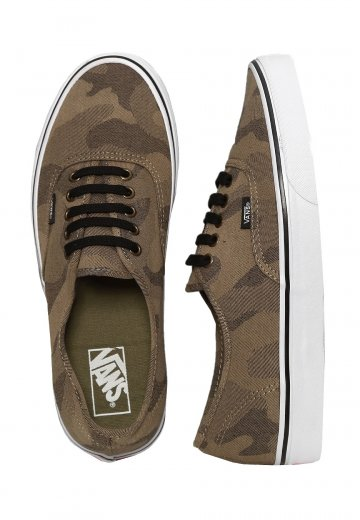 203d06ddfb Vans - Authentic Camo Jacquard Raven True White - Shoes - Impericon.com  Worldwide