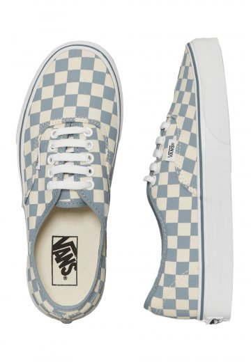 Vans - Authentic Checkerboard Classic White Citadel - Girl Shoes -  Impericon.com Worldwide 6b68bb2b2