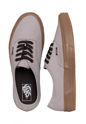 Vans - Authentic Gum Outsole Alloy Black - Shoes - Impericon.com UK 58565c6d4