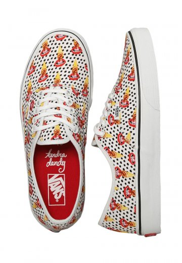 44921c1290 Vans - Authentic Kendra Dandy I Scream True White - Girl Shoes -  Impericon.com Worldwide