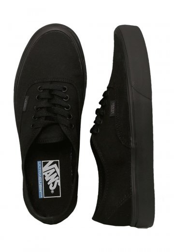 1c87575dac3 Vans - Authentic Lite Canvas Black Black - Shoes - Impericon.com Worldwide