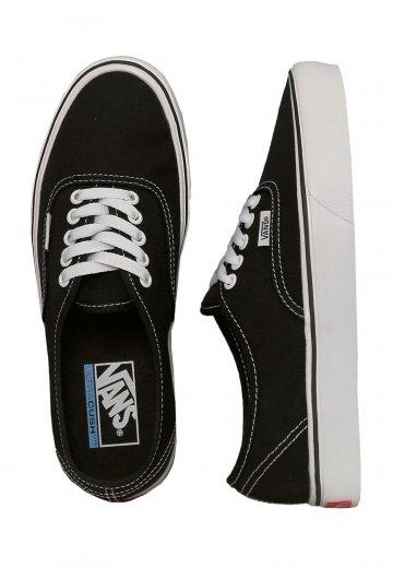 286ce5c03924 Vans - Authentic Lite Canvas Black White - Shoes - Impericon.com Worldwide