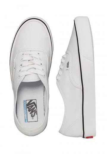 Vans Authentic Lite Canvas True White Girl Shoes