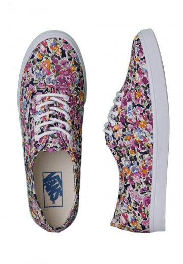 79a1b81a948255 Vans - Authentic Lo Pro Floral Violet True White - Girl Shoes -  Impericon.com Worldwide