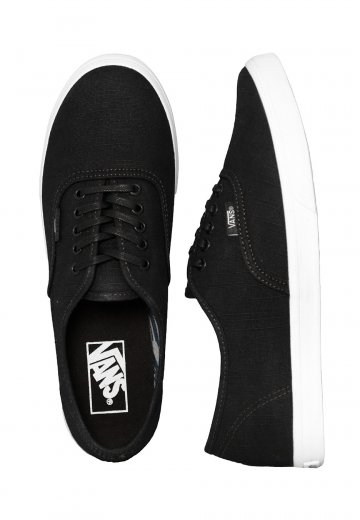 1a49162b93 Vans - Authentic Lo Pro Indigo Tropical Black True White - Girl Shoes -  Impericon.com UK