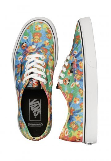 e34af558f5 Vans X Nintendo - Authentic Nintendo Super Mario Bros Tie Dye - Girl Shoes  - Impericon.com Worldwide