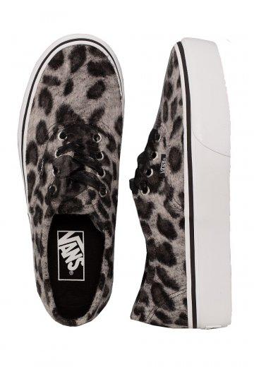 e70e99bda89862 Vans - Authentic Platform 2.0 Fuzzy Snow Leopard - Girl Shoes - Impericon.com  UK