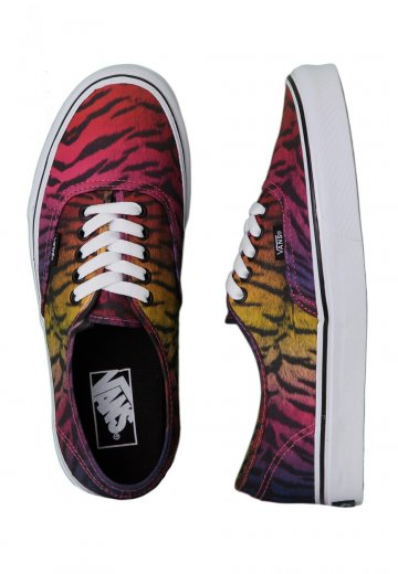 d798a78a7a Vans - Authentic Rainbow Tiger Black - Girl Shoes - Impericon.com Worldwide