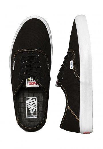 Vans - Authentic SF Black/Spruce Yellow - Shoes