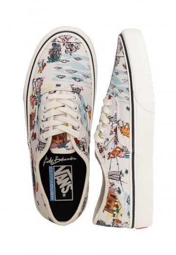 Vans Authentic Sf (Kide) ClscwhtMarshmallow Girl Shoes