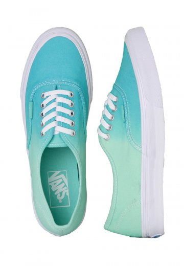 5c9f56f4a5d144 Vans - Authentic Slim Ombre Cloisonne Icy Green - Girl Shoes -  Impericon.com Worldwide