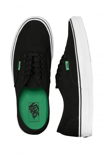 08c1ffe168cc67 Vans - Authentic Sport Pop Black Kelly Green - Shoes - Impericon.com  Worldwide