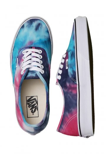 0c5497ddadbb Vans - Authentic Tie Dye Pink Blue - Girl Shoes - Impericon.com UK