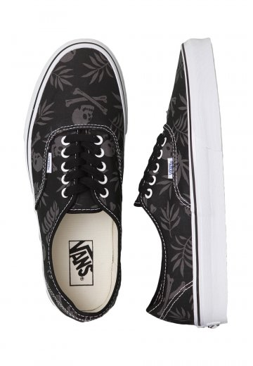 8a671cec53 Vans - Authentic Van Doren Black Aloha Skull - Shoes - Impericon.com US