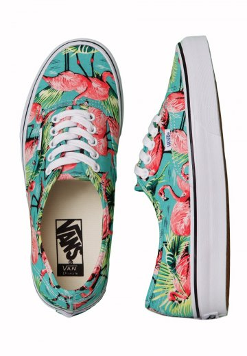Vans - Authentic Van Doren Turquoise Flamingo - Girl Shoes - Impericon.com  Worldwide acca0da30