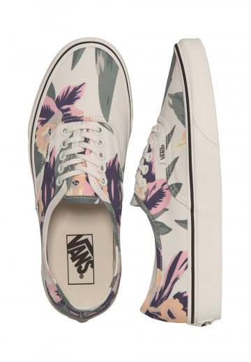 d92fc28574b4 Vans - Authentic Vintage Floral Marshmallow - Girl Shoes - Impericon.com UK