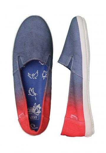 8b51c9b3ed Vans - Bixie Leila Ensign Blue Doves - Girl Shoes - Impericon.com UK