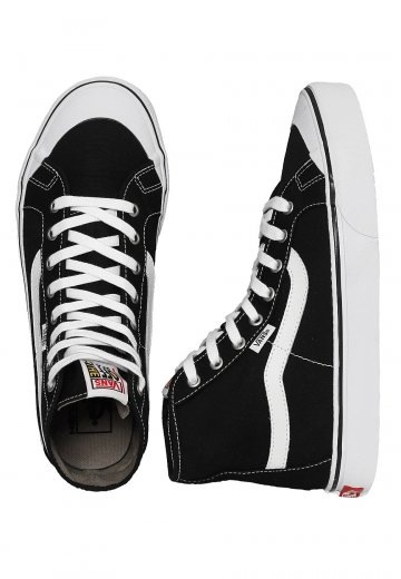 e98e3cd5bd Vans - Black Ball Hi SF Black True White - Shoes - Impericon.com Worldwide