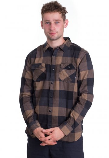 Vans Box Flannel DirtBlack Shirt