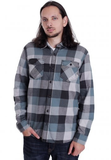 4aa981ade3 Vans - Box Flannel New Charcoal North Atlantic - Shirt - Impericon.com  Worldwide