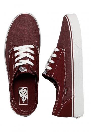 333d38d1b7a845 Vans - Brigata Washed Canvas Port Royale White - Shoes - Impericon.com  Worldwide
