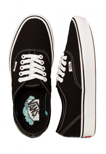 Vans - ComfyCush Authentic Classic Black/True White - Shoes