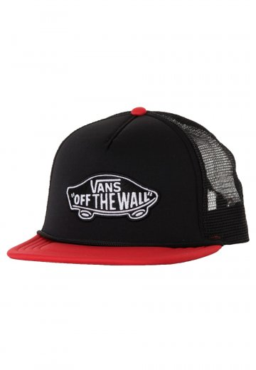 a14529c0c4d Vans - Classic Patch Trucker Black Reinvent Red - Cap - Impericon.com  Worldwide