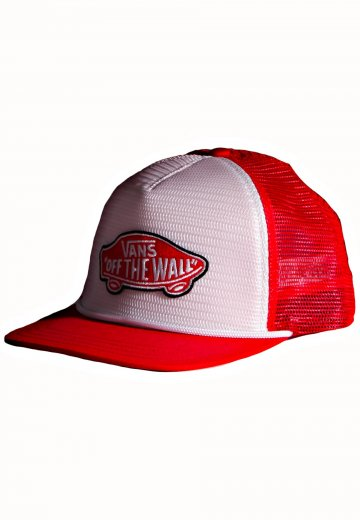 bea175f276d Vans - Classic Patch Brand Red White - Trucker Cap - Impericon.com Worldwide