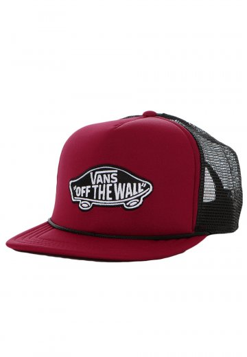 06bfe8ef3f6 Vans - Vans Classic Patch Trucker Red Black - Cap - Impericon.com AU