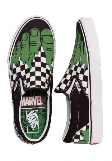 Vans x Marvel - Classic Slip-On Marvel Hulk - Shoes