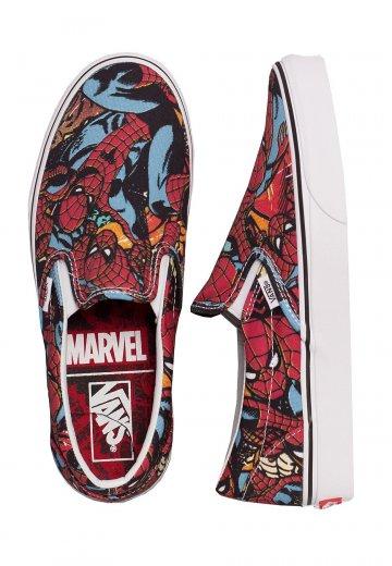 a86e87488 Vans x Marvel - Classic Slip-On Marvel Spiderman - Zapatos ...