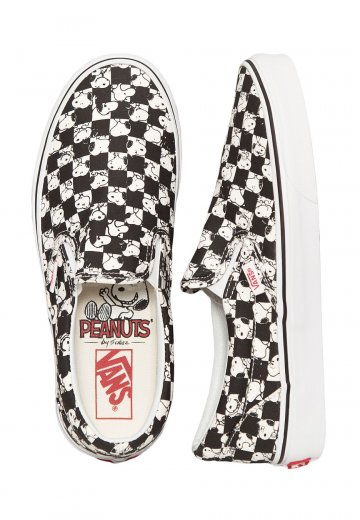 daee30e0955d5f Vans X Peanuts - Classic Slip-On Peanuts Snoopy Checkerboard - Shoes -  Impericon.com UK