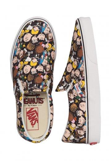 Vans X Peanuts Classic Slip On Peanuts TH Girl Shoes