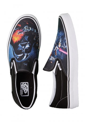 Vans - Classic Slip-On Star Wars A New Hope - Shoes - Streetwear Shop -  Impericon.com US 20f2ac88b5