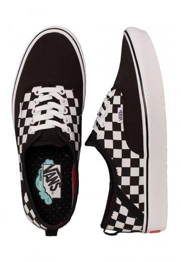 Vans - ComfyCush Authentic SF 2 Tone Black/Checkerboard - Shoes