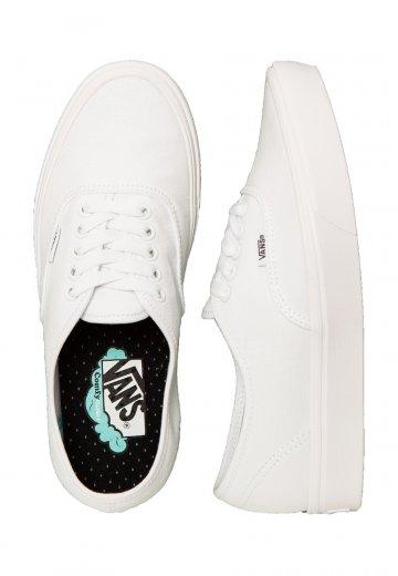wiele kolorów odebrać trampki Vans - ComfyCush Authentic Classic True White/True White - Shoes
