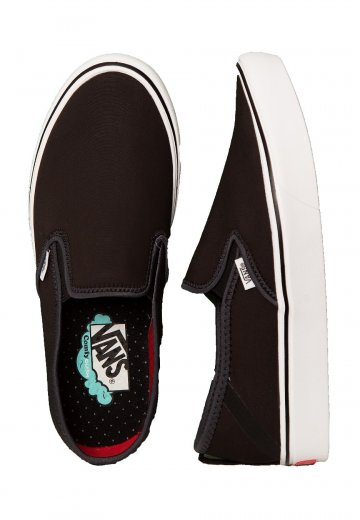 Vans ComfyCush Slip On SF BlackTrue White Shoes