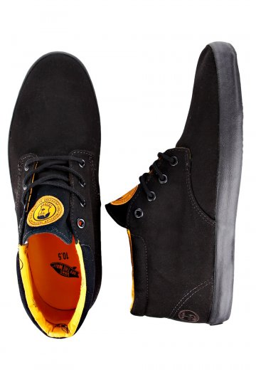 066356d8d3 Vans - Del Norte Captain Fin Black Radiant Yellow - Shoes - Impericon.com AU