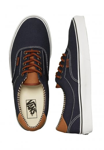 0c419fb01c6bd0 Vans - Era 59 C L Dress Blues Stripe Denim - Shoes - Impericon.com US