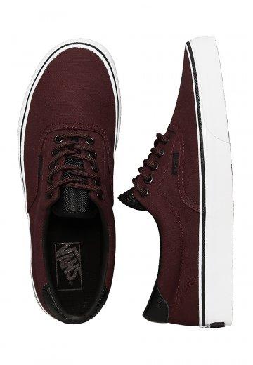Vans - Era 59 Canvas Military Iron Brown/White - Shoes