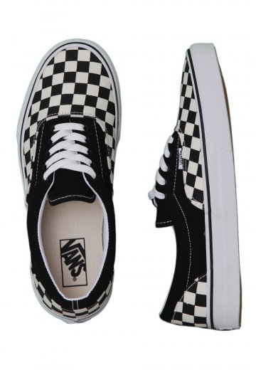 Vans - Era Checkerboard Black/Natural - Shoes
