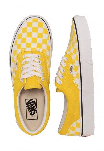 Vans - Era Checkerboard Vibrant Yellow