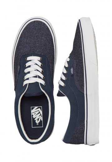 on sale 0b887 37886 Vans - Era Suede & Suiting Dress Blues - Shoes