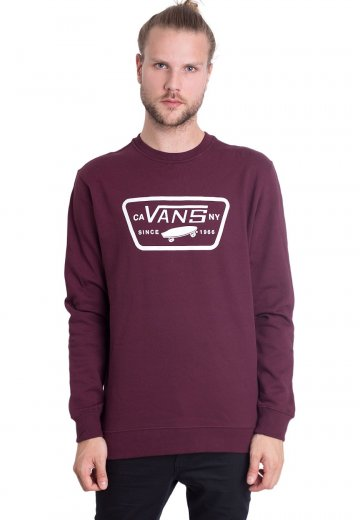 b29620b0c0 Vans - Full Patch Crew Port Royale - Sweater - Impericon.com UK