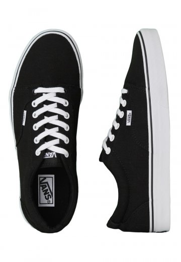 dfba5d9ec3ba01 Vans - Kress Black True White - Shoes - Impericon.com US